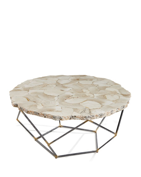 Ren Fossilized Clam Coffee Table