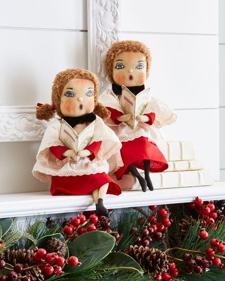 Harper Caroling Boy Doll