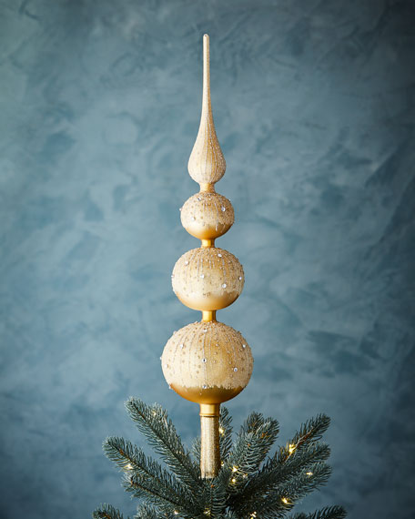 Gold & Glitter Collection Golden Finial