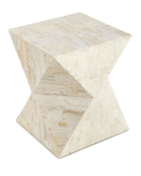 Gentil Jules Stone Side Table