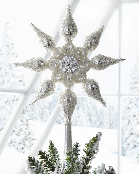 Glitz & Glam Star Tree Topper