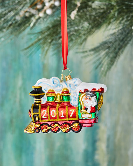All Aboard! 2017 Ornament