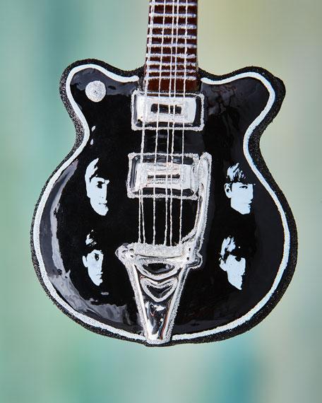 Beatles Guitar Ornament