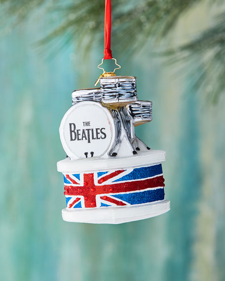 Beatles Ringo Drum Set Ornament