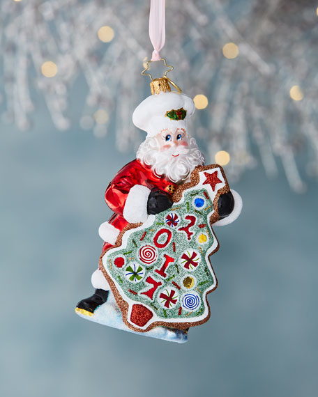 Sugar Cookie Kris Christmas Ornament