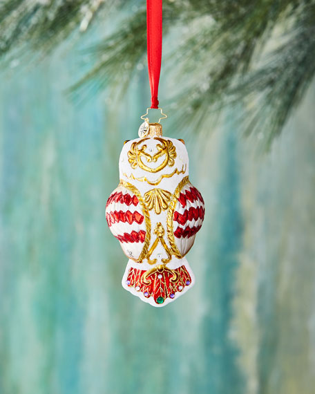 Owl Fly Away Ornament