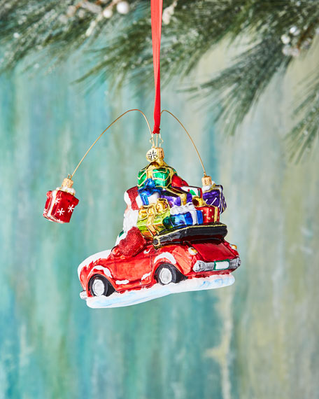 Gifts are Poppin' Christmas Ornament