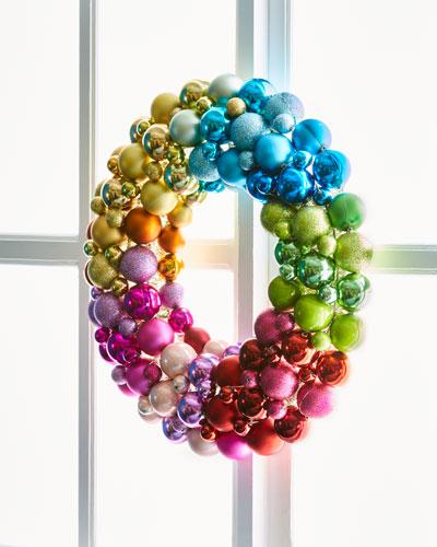 Ball Encrusted Wreath