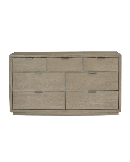 Aletha Faux-Shagreen Dresser