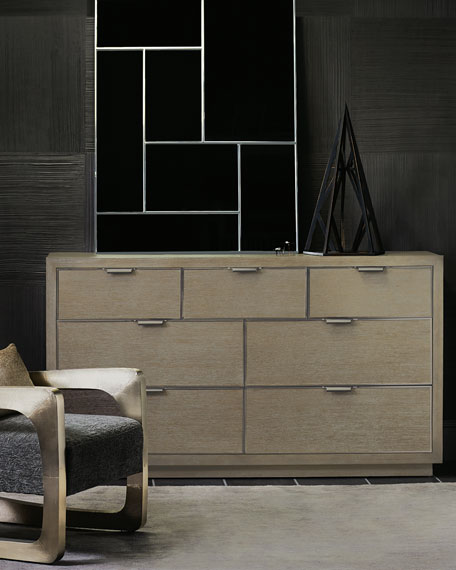 Bernhardt Aletha Faux-Shagreen Dresser
