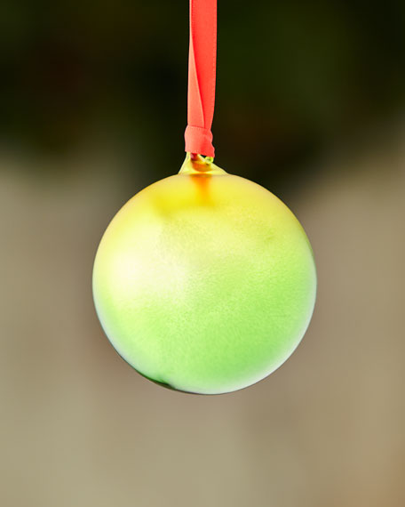 Ombre Ball Ornament, Green
