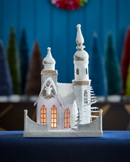 Lilac Church Collectible