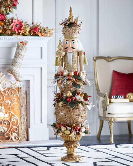 "Gold & Glitter Collection Nutcracker, 65"""