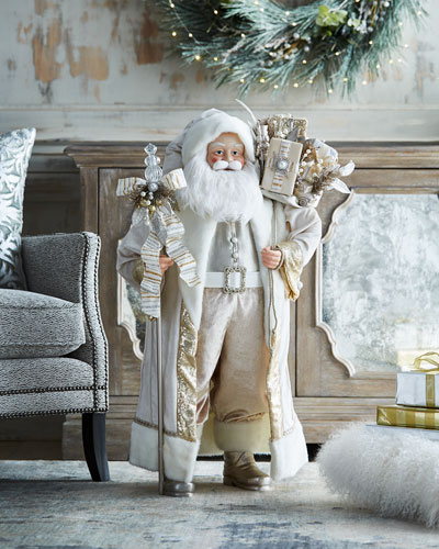 White & Silver Collection Christmas Santa, 36