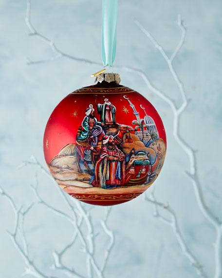 Story of Nativity Ornament