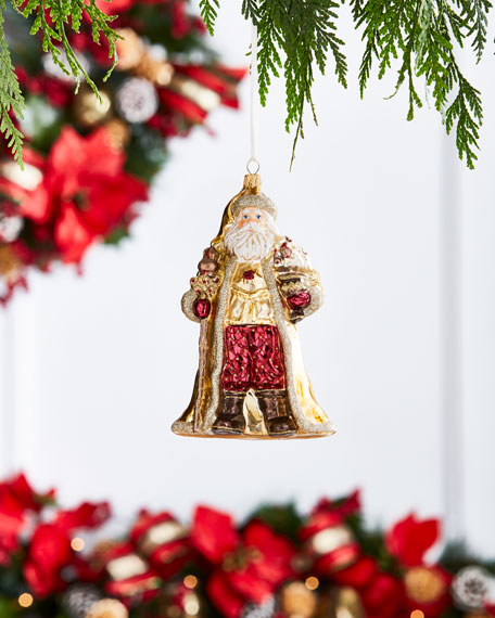 Gold & Glitter Collection Santa with
