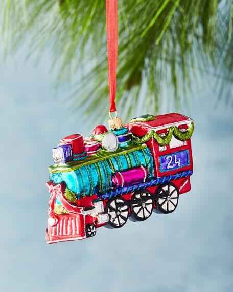 Bright Train Ornament