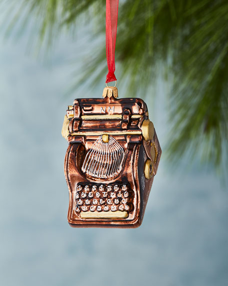 Neiman Marcus Typewriter Ornament
