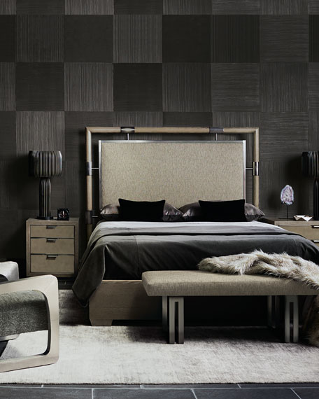 Bernhardt Annistyn Metal Accent King Bed