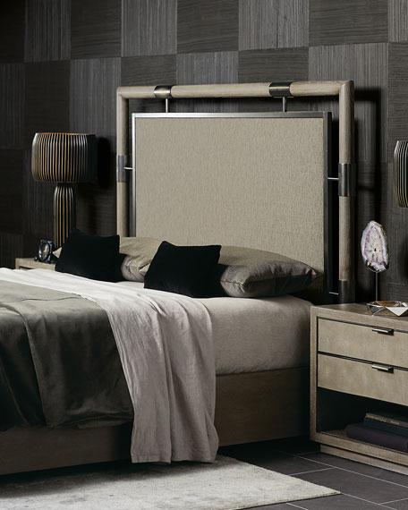 Annistyn Metal Accent Queen Bed
