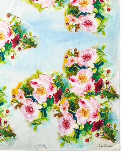 Peony Tablecloth  60 x 90