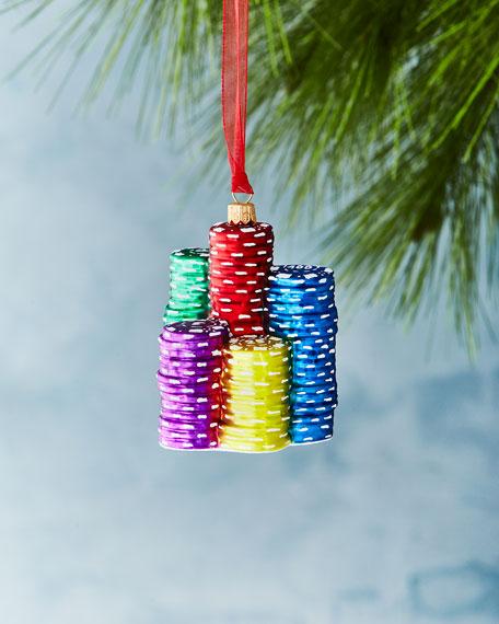 Poker Chips Ornament