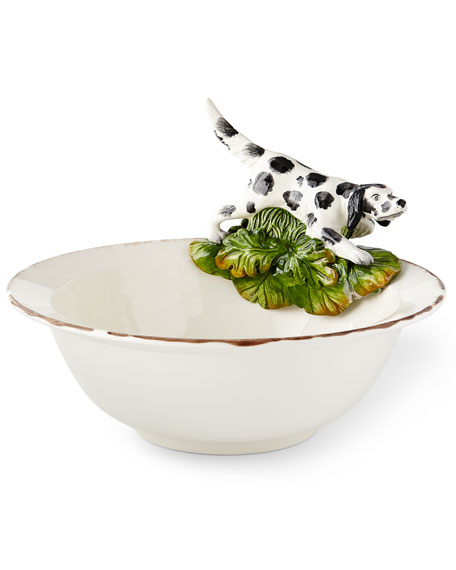 Wildlife Hunting Dog Serving Bowl