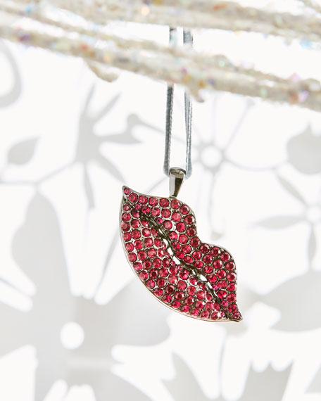 Lip Ornament, Fuchsia
