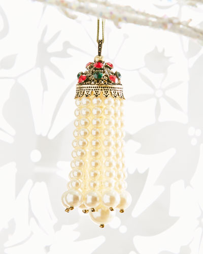 Hanging Pearl Tassel Ornamen