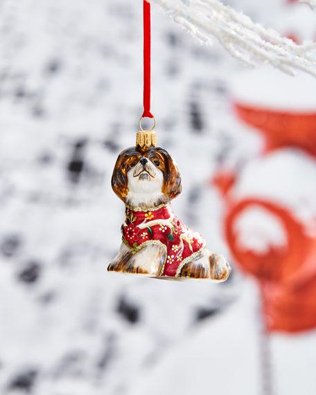 Shih Tzu in Kimono Ornament