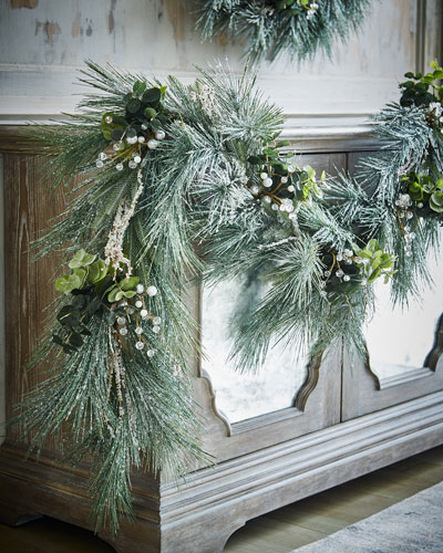 Frosted Berry 6' Garland
