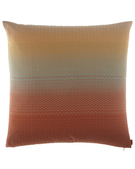 "Topeka Pillow, 24""Sq."