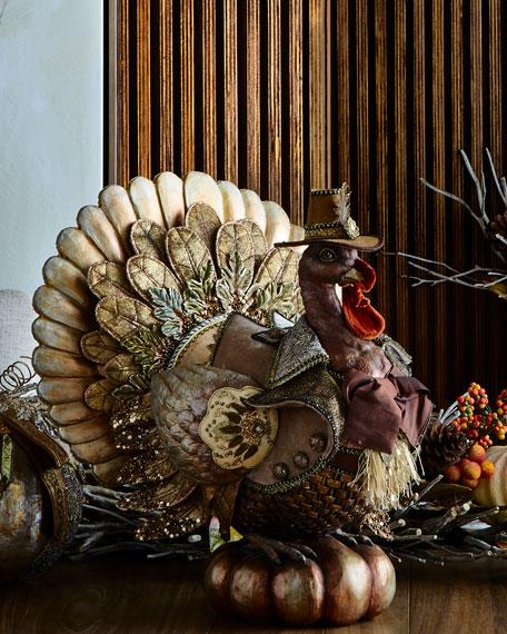 Large Resin Turkey
