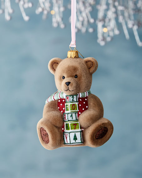 2017 Cuddly Bear Ornament