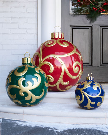 outdoor christmas ornament medium - Outdoor Christmas Ornaments