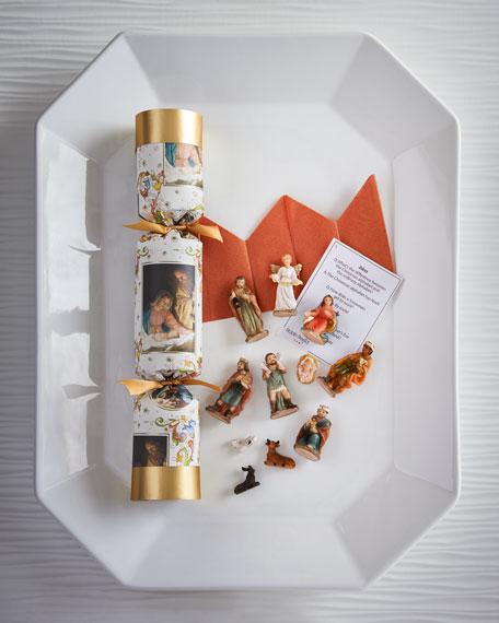Nativity Christmas Crackers, Set of 4