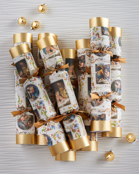 Nativity Christmas Crackers, Set of 4