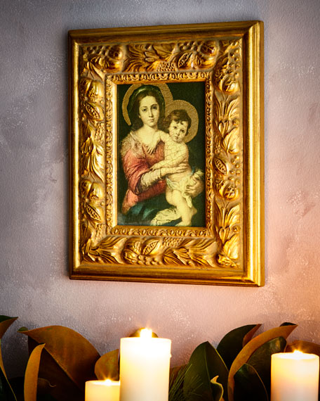 Madonna and Child Painting