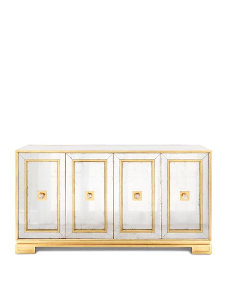 Felix Four-Door Mirrored Console
