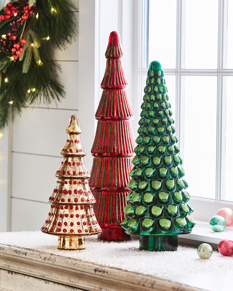 Red & Green Collection Mercury Green Large Tree