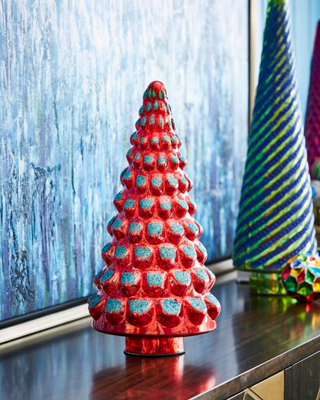 Playful Brights Collection Mercury Red Tree