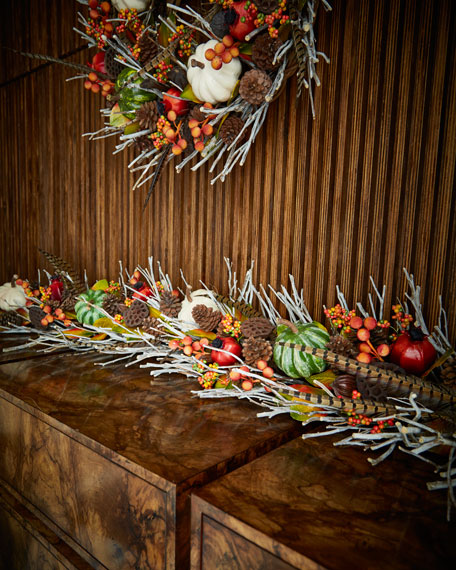 Fall Gatherings Collection 6' Garland