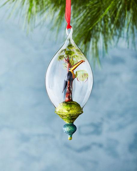 Toucan in Menagerie Ornament