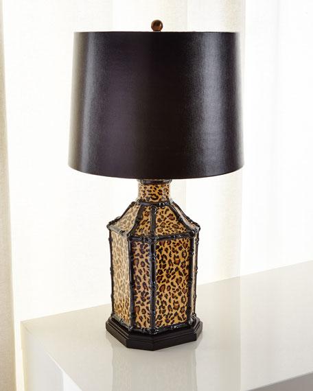 Amelia Leopard Lamp