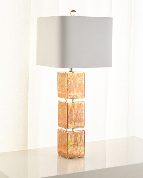 Cooper Leaf Table Lamp