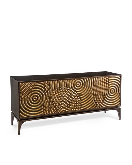 Golden Swirl Sideboard