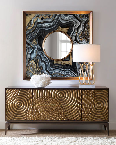 Golden Swirl Sideboard