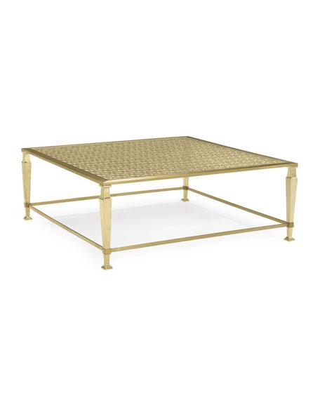Johanna Golden Square Coffee Table