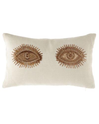 Muse Eyes Throw Pillow
