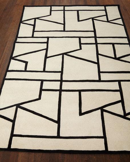 Penn Hand-Tufted Rug, 6' x 9'